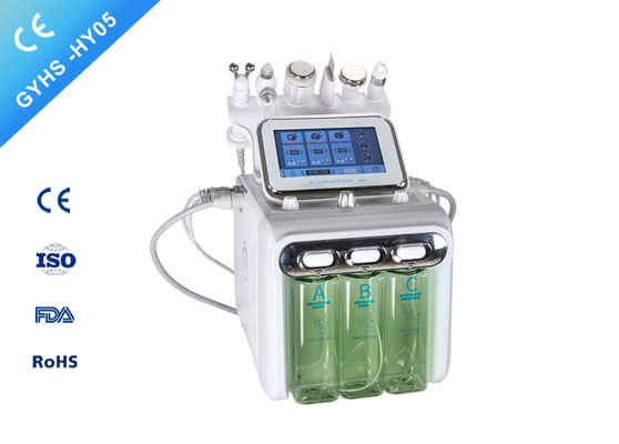 6in1 Hydrafacial Microdermabrasion Machine / H2O2 Aqua Facial Peeling Hydrafacial Machine